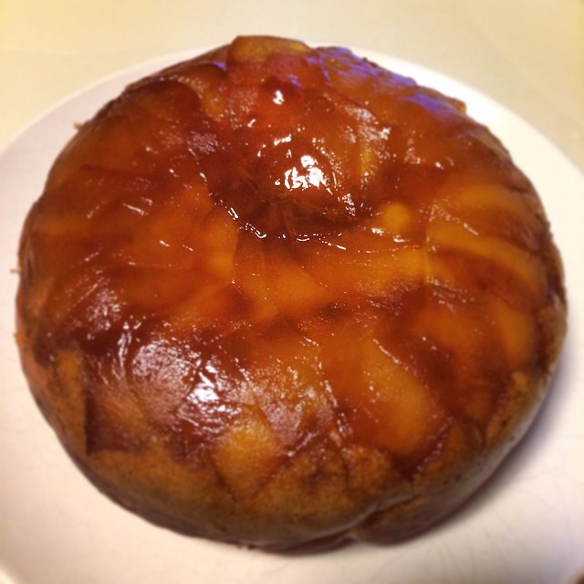 ざくろ酢アップルケーキ