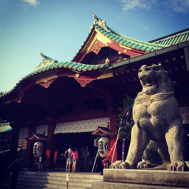 #Japan #AKIHABARA #KANDA #神田明神