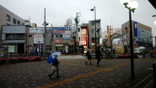 世田谷区経堂すずらん通り入り口