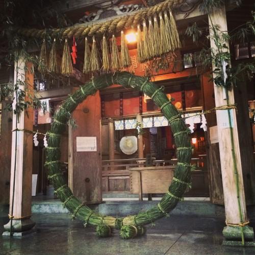 高千穂神社 茅の輪
