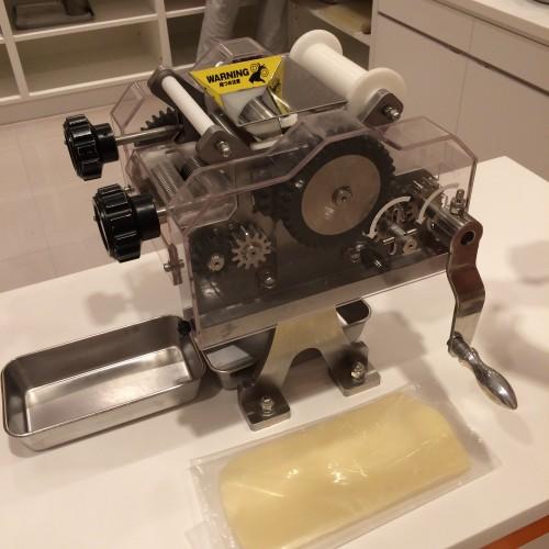 チキンラーメンファクトリー 製麺機