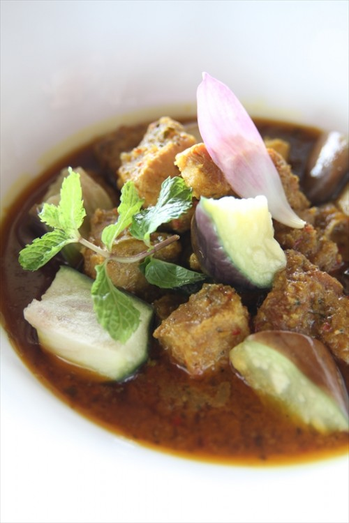 Songsaa Private Island -Khmer food-