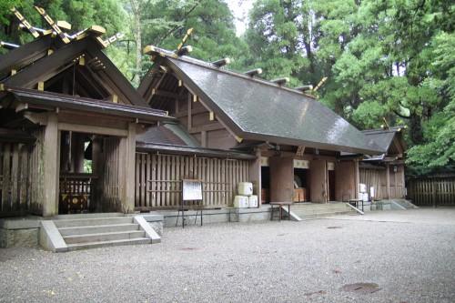 天岩戸神社 西本宮 本殿